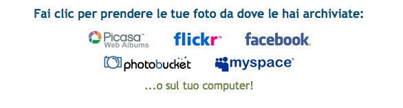 picnik modifica foto italiano