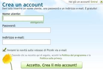 account picnik