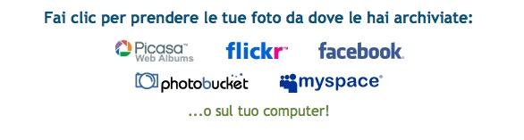 picnik modifica foto italiano