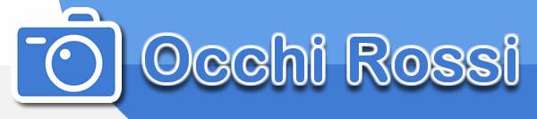 sito per modificare foto - occhi rossi