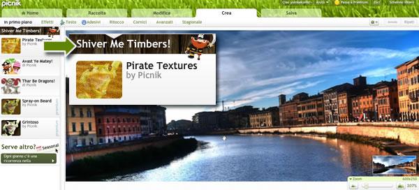 picnik pirate texture